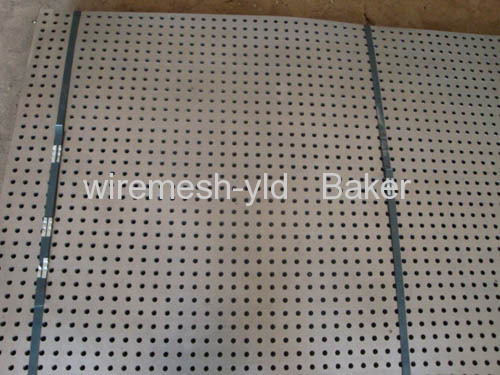 round hole perforated panels