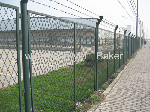 expanded metal protection fences