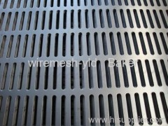 oblong hole perforated metals