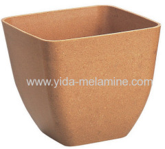 Plant fibre pot