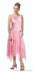 morden cocktail gown