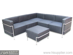 LE CORBUSIER CORNER SOFA,LEATHER CORNER SOFA, LE CORBUSIER SOFA