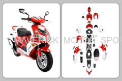 ABS Motorcycle Fairing Kit