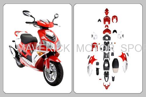 ABS Motorcycle Fairing Kit