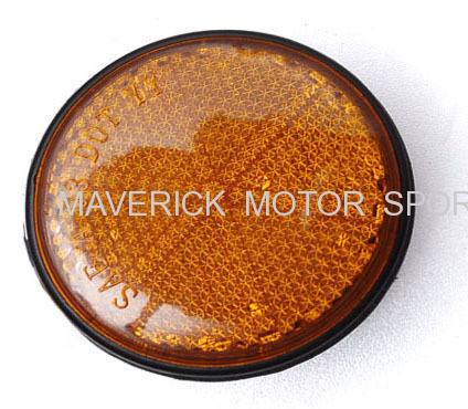 Motorcycle Side Reflector