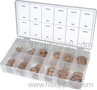 Solid copper washer set