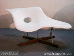 FIBERGLASS EAMES CHAISE, LOUNGE CHAIR ,CHAISE LOUNGE