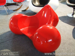 FIBERGLASS TOMATO CHAIR,OUTDOOR LOUNGE CHAIR,TOMATO LOUNGE CHAIR