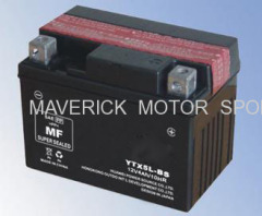 12v Dry Charged MF Motorcycle Battery