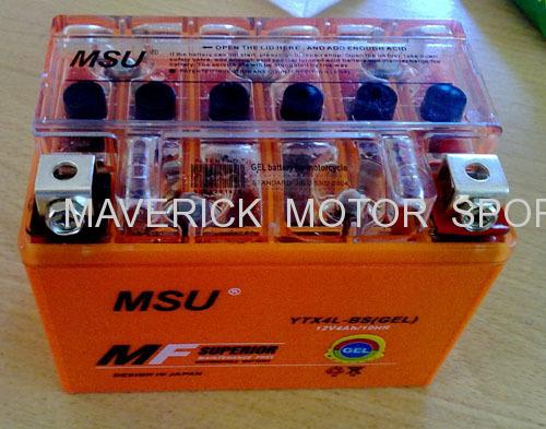12V Motorcycle Battery