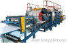 Sandwich panel roll forming machine, sandwich panel machine