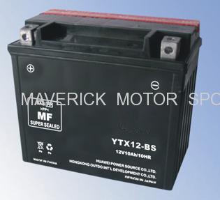 12 Volt MF Motorcycle Battery
