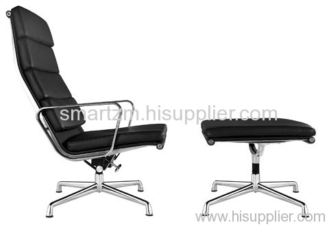Eames Office High Back Chair Ottoman Meeting Living Room