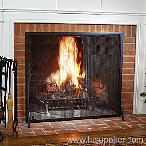 Mesh Fire Curtains Fireplace Mesh Screens