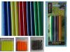 Colored glue stick