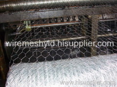 electro-galvanized hexagonal wire meshes