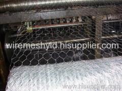electro-galvanized hexagonal wire meshes