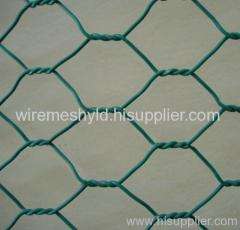 pvc coated hexagonal wire meshes