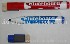 Big dry erase marker with magnet