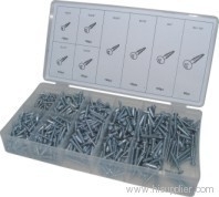 Sheet metal screw assortment