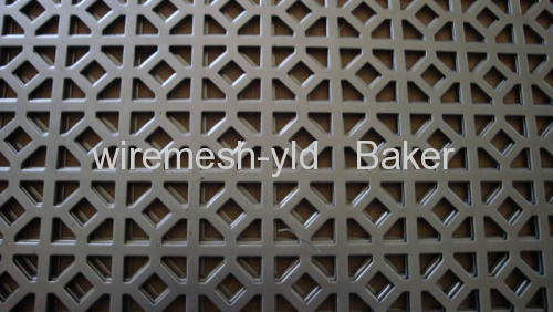 Special hole perforated metal meshs