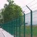 deep green pvc coated welded wire mesh fences