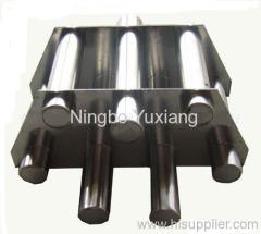 magnetic bar filter separator
