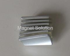 neodymium motor segment magnets