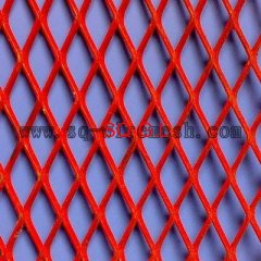 powder coated expanded mesh