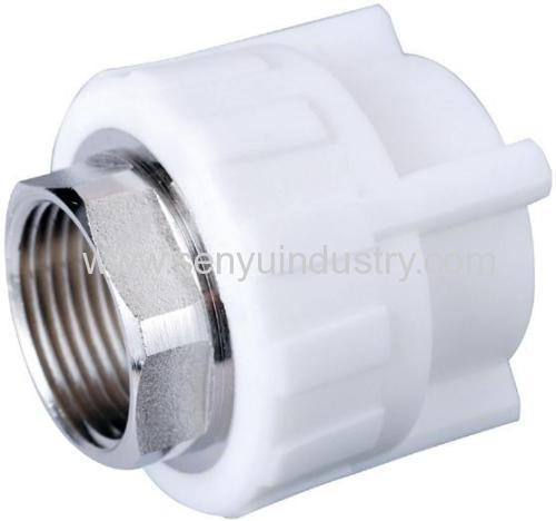 Ppr female adapter with brass products china