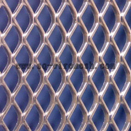 pulled plate mesh