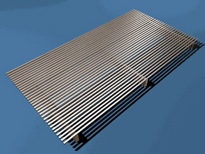 wedge wire steel gratings