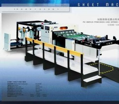 paper roll sheeting machine