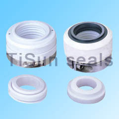 Mechanical dyeing pump seals