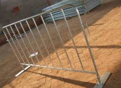 metal removable barricades