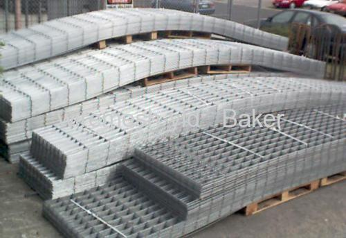 electro-galvanized welded wire mesh panels