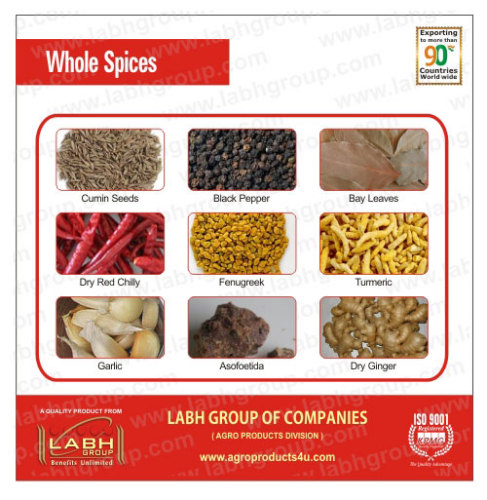 Whole Spices from China manufacturer - Labh Group of