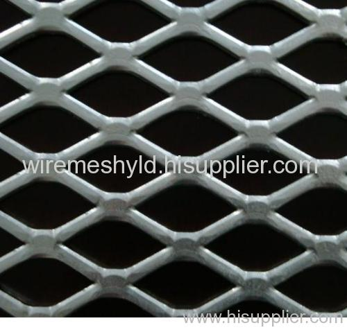 Low Carbon Flattened Expanded wire mesh