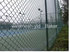 Pvc Coated Sports Fields Fence