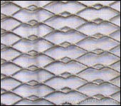 Hexagonal expanded metal netting