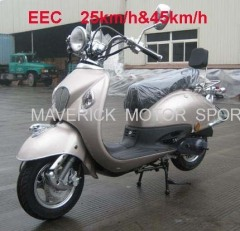 EEC 50cc Moped Scooter