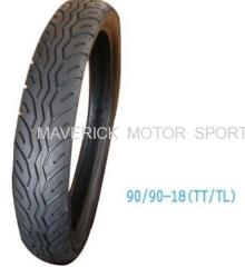 Tubeleess Motorcycle tire 90/90-18