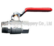 brass ball valve with male and female thread