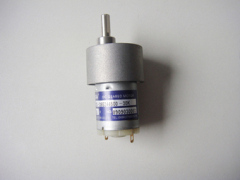 carbon brush gear motor