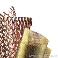 Decoration Copper Expanded metal Mesh