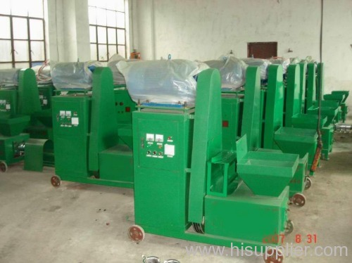 Sawdust briquette machine charcoal