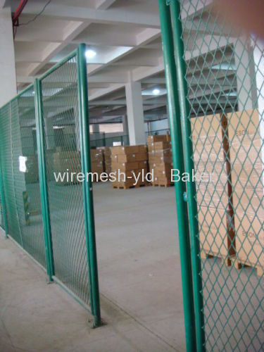 Storehouse Metal Fence