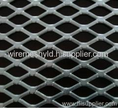 flattened galvanized expanded metal meshes