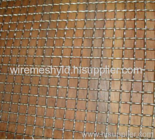 Stainless steel crimped wire meshes