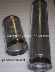 perforated filter baskets